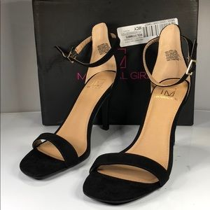 [182] Material Girl 7.5 W Two-Piece Dress Sandals